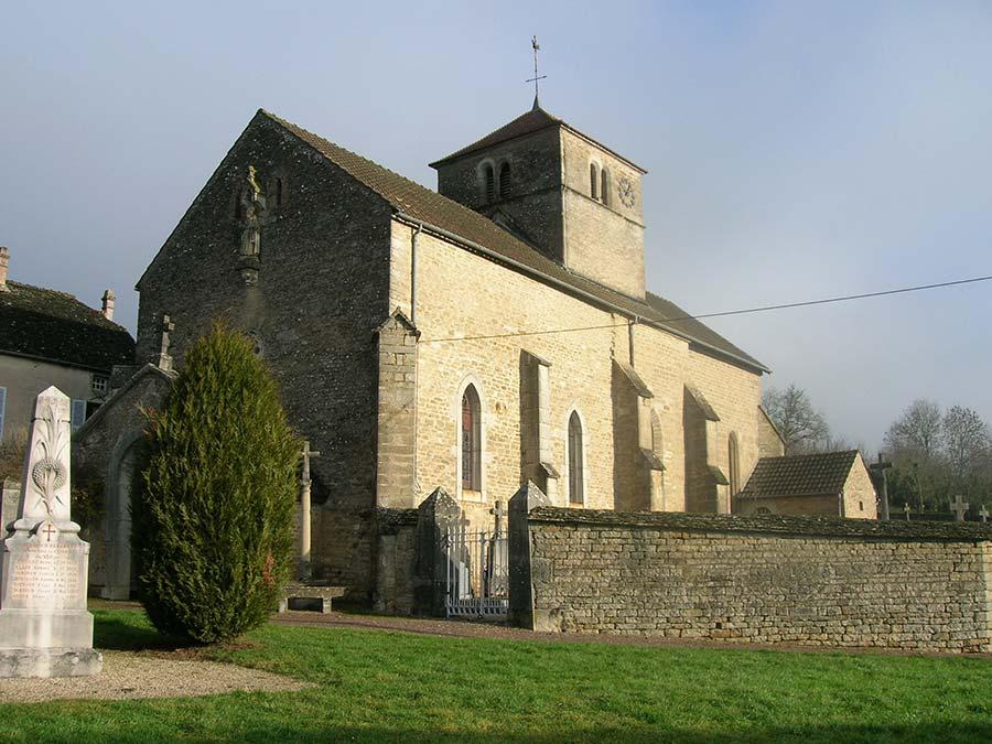Eglise d'Echannay