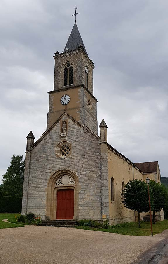 Eglise de Mâlain